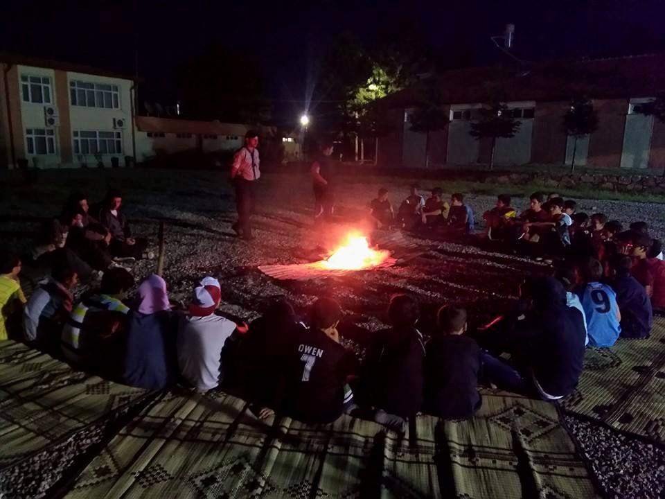 Gençlik merkezi yaz okulları izci kampı ile başladı