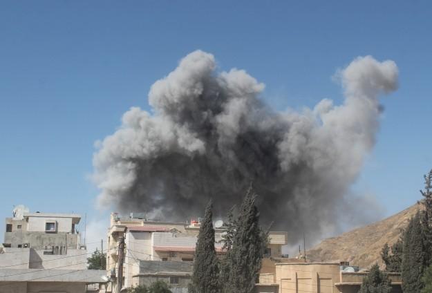 Suriyeden Iraka hava saldırısı iddiası