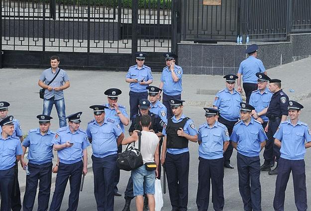 Ukraynada 17 bin polis işten çıkarıldı