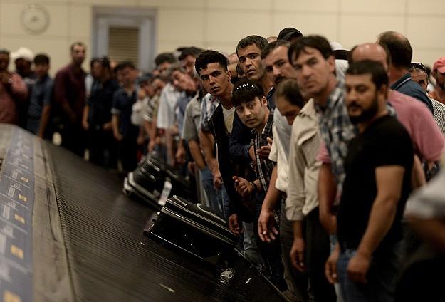 Türklerin Libyadan  ayrılışı sürüyor
