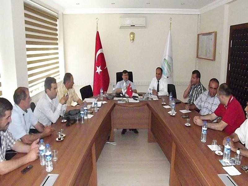 Beyşehir turizminin geliştirilmesi için buluştular