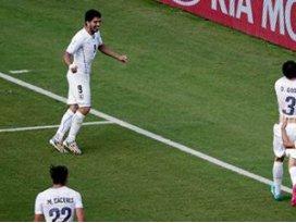 Zafer Uruguayın oldu: 0-1