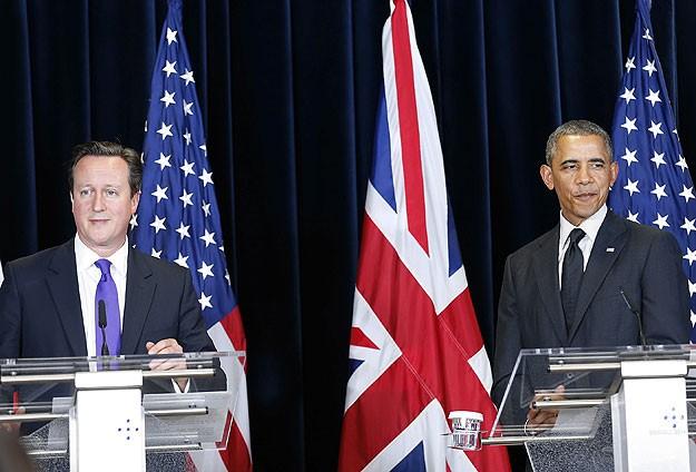 Obama, Cameron ile Ukrayna ve Irakı konuştu