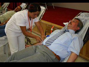 Türkiye de kadınlar kan bağışına soğuk