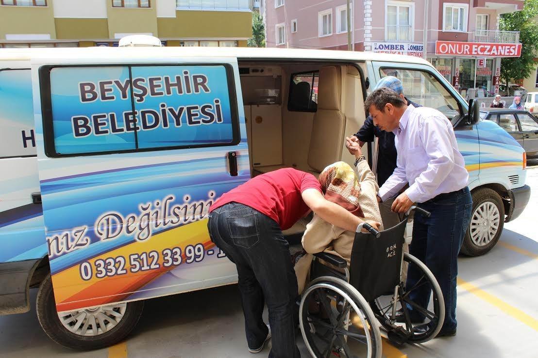 Beyşehir Belediyesinden örnek hizmet