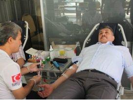 Konya SMMMO'da kan bağışı kampanyası