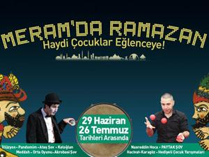 Meram'da ramazan'da etkinlikler düzenlenecek