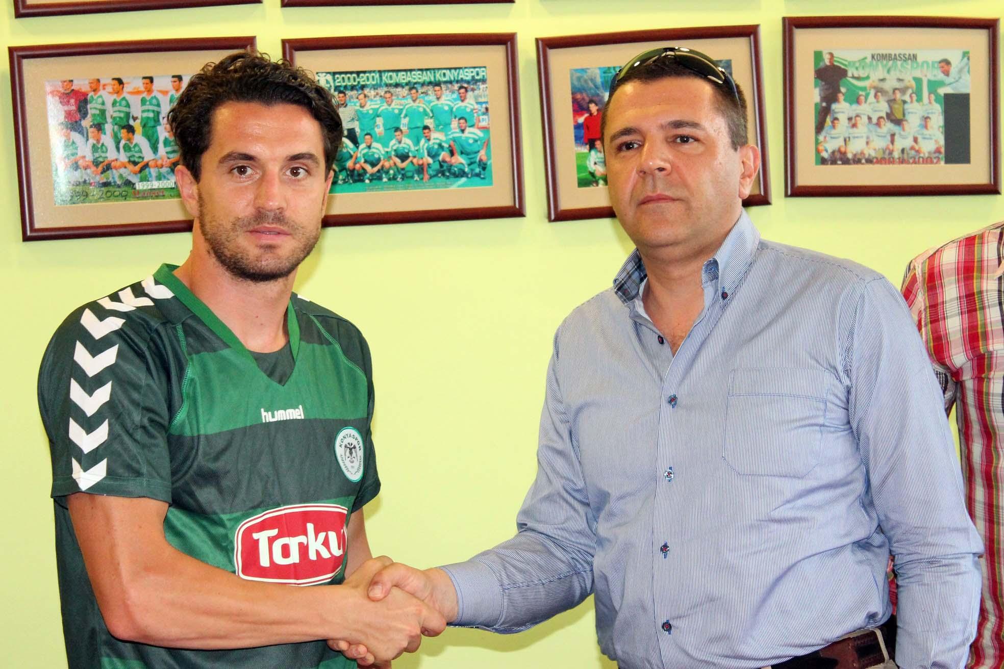 Torku Konyaspora  Bulgar golcü
