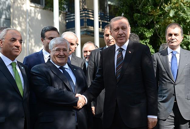 Başbakan Erdoğandan DSPye ziyaret