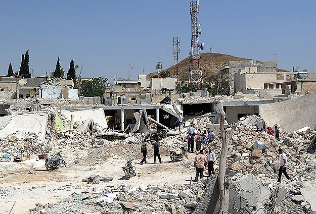 Esed güçlerinin operasyonlarında 105 kişi öldü