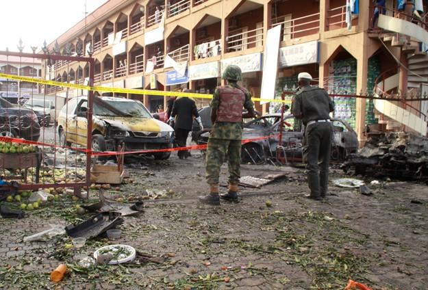 Alışveriş merkezinde patlama: 21 ölü