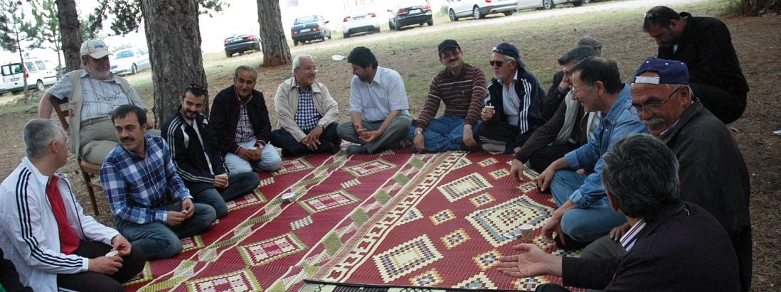 MÜSİAD Konya piknikte stres attı