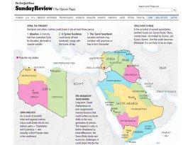 Batı medyasından tehlikeliharita