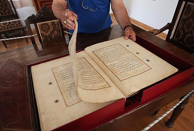 613 yıllık Kuran-ı Kerim Rodosta muhafaza ediliyor