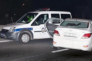 Otomobil suç aleti oldu