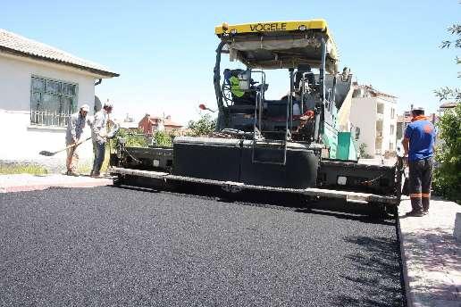 Karatayda hedef 250 bin ton asfalt