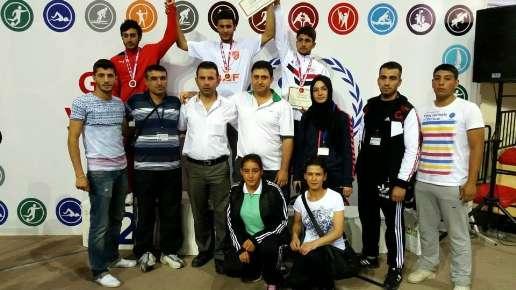 Konyalı kick boksçulardan altın madalya
