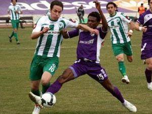 Konyaspor Ordusporla 1-1 berabere kaldı