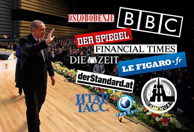 Başbakan Erdoğanın adaylığı dünya basınında