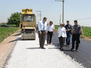Meram asfalt çalışmaları sürüyor