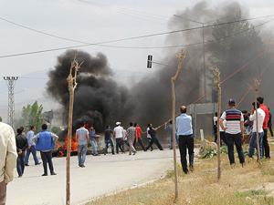 Başkalede PKKlı cenazesinde gerginlik