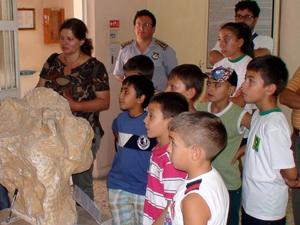 Ereğli'de ilkokul öğrencileri müzeyi gezdi