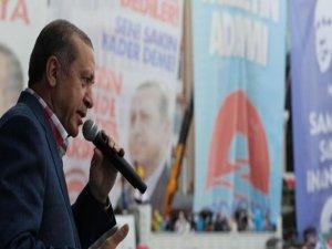 Erdoğan: Dik duracağız