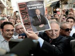 İhsanoğlu, Türkiye düşmanı ile poz verdi