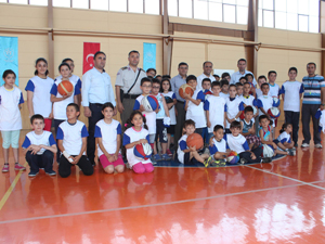 Beyşehir'de yaz basketbol spor okulu açılışı