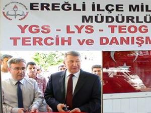 Ereğli'de tercih ve danışma merkezi açıldı