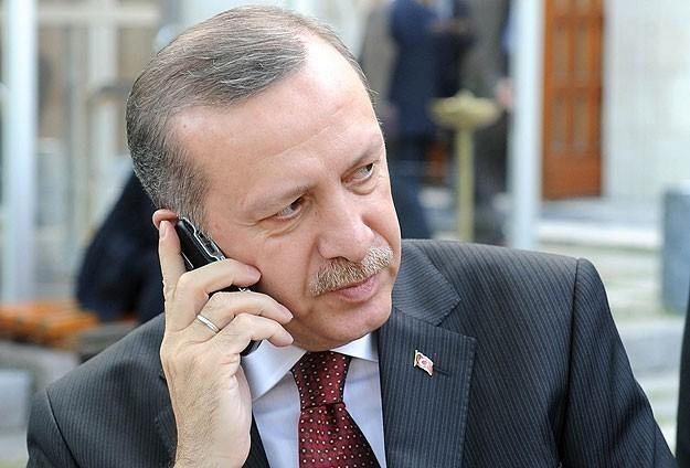 Erdoğandan Çillere geçmiş olsun telefonu