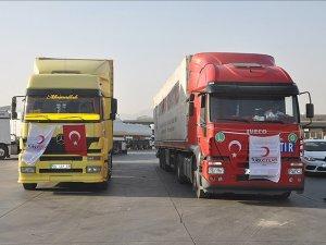 Türk Kızılayı Türkmenlerin yanında