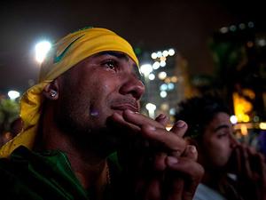 Brezilyada öfke gözyaşları