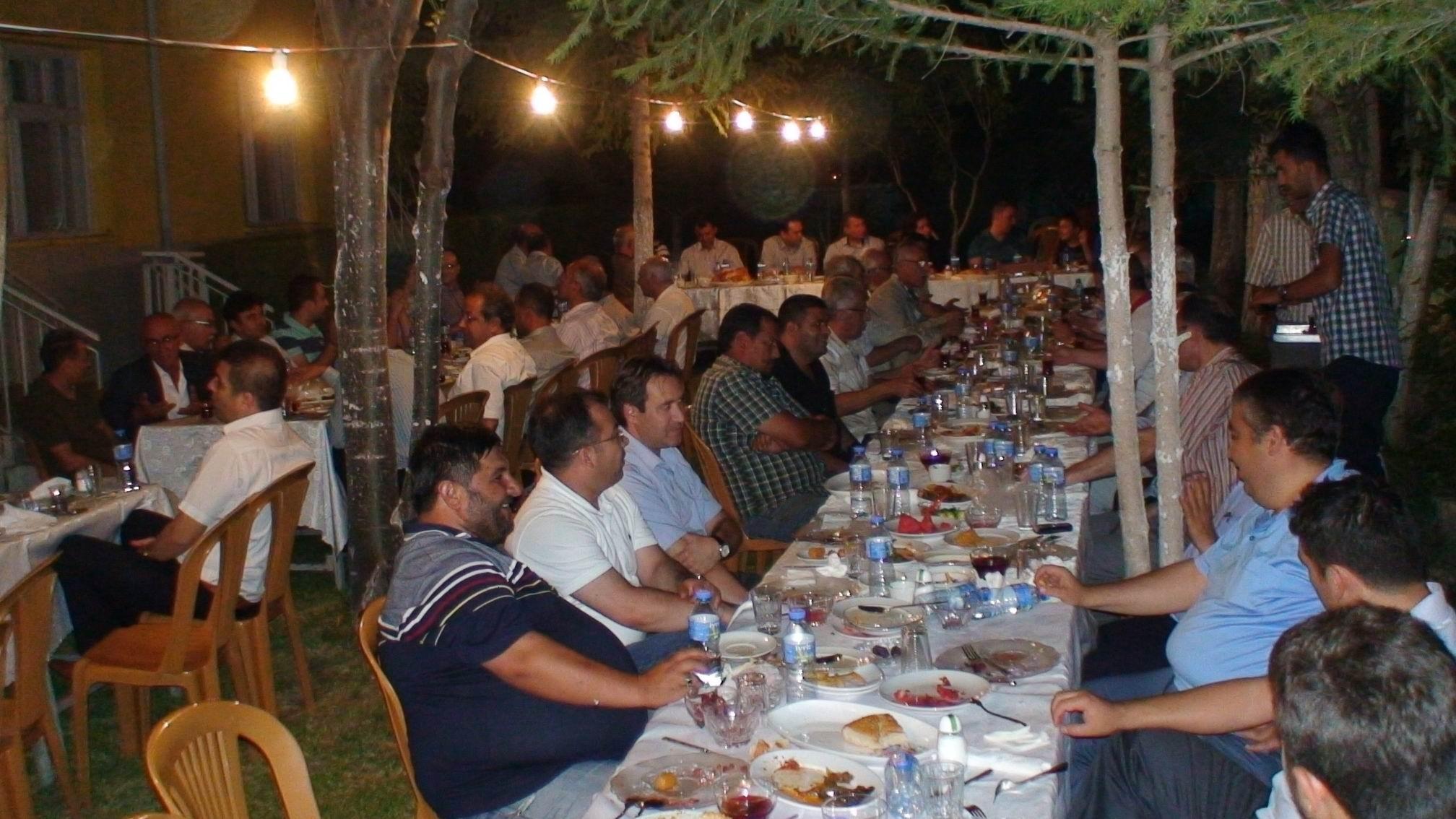 Ereğlide geleneksel iftar