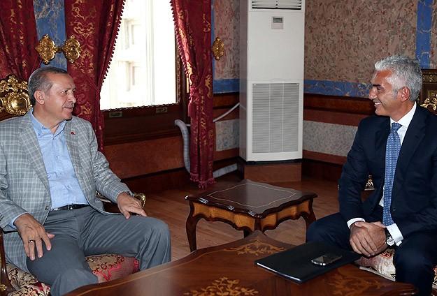Başbakan  TÜSİAD Başkanı Dinçeri kabul etti