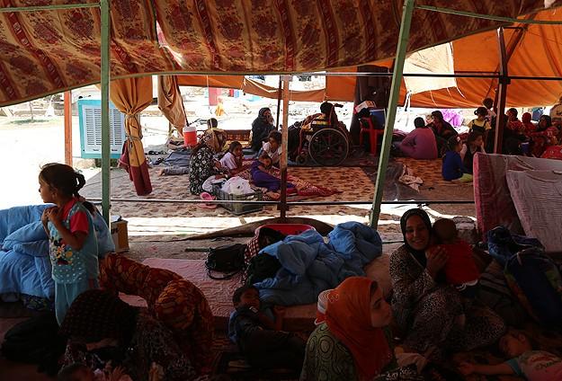 Telaferli Türkmenler için kamp kurulacak