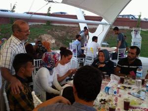 Yabancı uyruklu öğrencilerle iftar