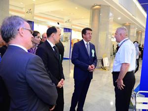 Kompen Türkmenistan'daki fuarda boy gösterdi