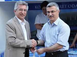 MÜSİAD'tan KTO Karatay Üniversitesine destek