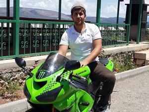 Yarış motosikletiyle sürüş yaparken öldü