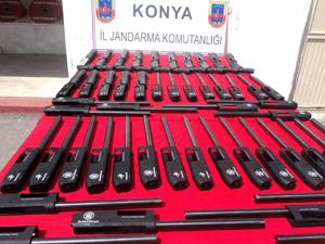 İzinsiz üretilen pompalı tüfek ele geçirildi