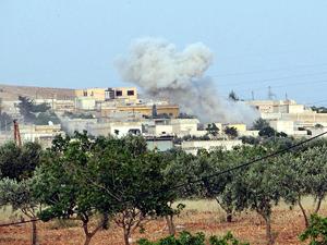 Esed birlikleri Türkmen bölgesine saldırdı