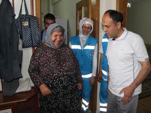 Beyşehir'de evde bakım hizmetine büyük ilgi
