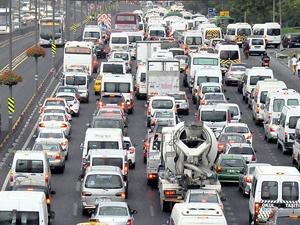 Araç sayısı 18 milyon 288 bini aştı