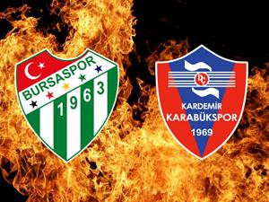 Bursaspor ve Karabüksporun rakipleri!