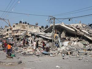 Gazzede ölü sayısı 606ya yükseldi