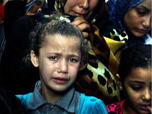 Gazzede 121 çocuk öldürüldü