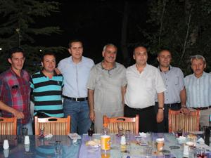 Beyşehir Milli Eğitim'de veda yemeği