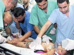 Gazzede doktorsuzluktan el ayak kesiliyor