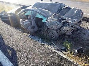 Aksaray-Konya yolunda kaza: 2 ölü